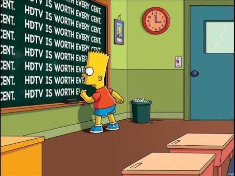 Los Simpson- La Casita Del Horror Escuela Del Infierno.