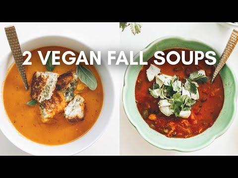 2 Vegan Fall Soup Recipes   This Savory Vegan