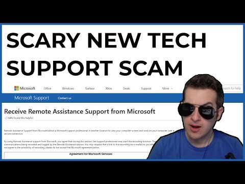 Scary New Tech Support Scam Technique