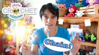 Learn to Crochet: The Basics - CHAIN STITCH!