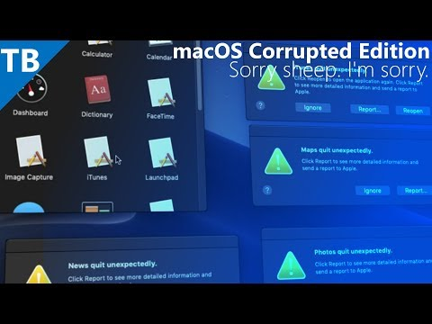 MacOS Corrupted Edition