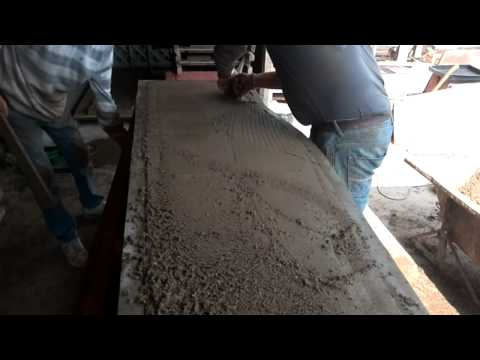 How to make concrete fence panels - JHenryks Ltd.