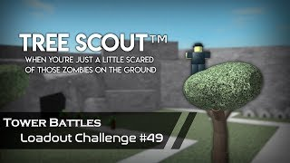 The Floor Is Lava | Loadout Challenge #49 | Tower Battles [ROBLOX]