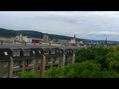 City landscape Gera, Germany