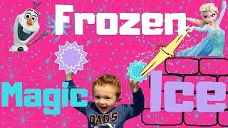 FROZEN Magic Ice Trick | FAIL | Science With Augie | Bestie Mom Club