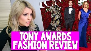 tony awards fashion review grace helbig