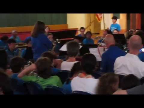 The Jazz Ensemble Playing
