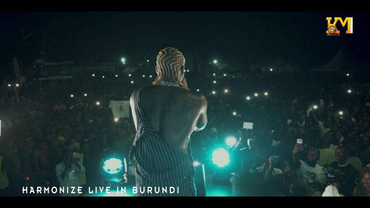 Image result for Harmonize Live Performance In Bujumbura (BURUNDI) Part 1