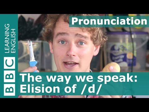 Pronunciation: Why does the sound /d/ sometimes disappear?