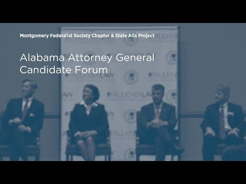 Alabama Attorney General Candidate Forum