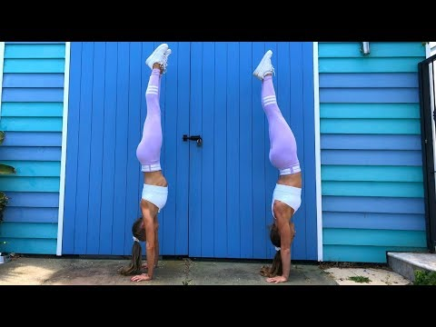 HANDSTAND TUTORIAL | The Rybka Twins!