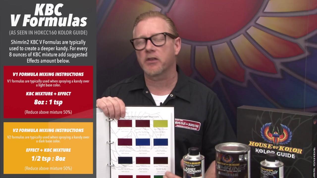 House Of Kolor Kolor Guide Understanding Mixing Youtube