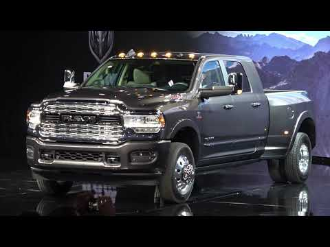 2019 RAM 3500 Heavy Duty Debut at Detroit Auto Show 2019