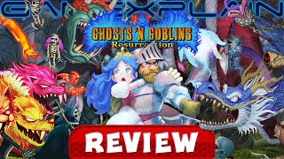 Ghosts 'n Goblins Resurrection - REVIEW (Nintendo Switch) (Video Game Video Review)