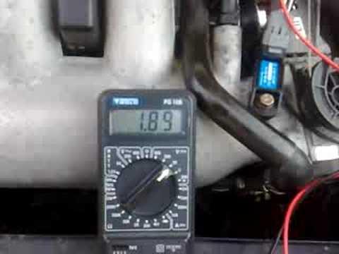 Peugeot 306 GTi6 MAP Sensor Testing  YouTube