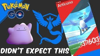 Pokemon GO | SOLO RAID Ditto VS. Articuno  | Then Something Unexpected Happens
