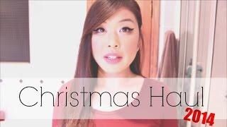 Christmas Haul 2014! ♥ Thumbnail