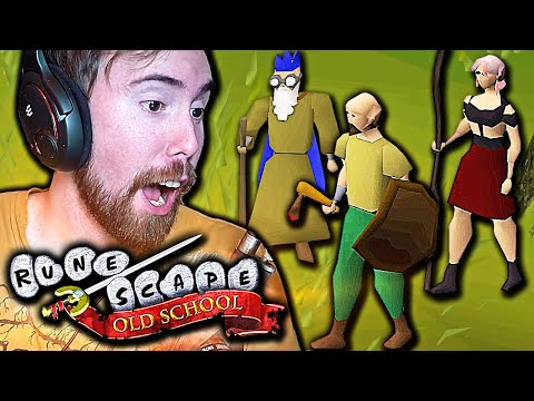 FIRST TIME! Asmongold Plays Old School Runescape   OSRS (MMORPG)