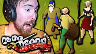 FIRST TIME! Asmongold Plays Old School Runescape | OSRS (MMORPG)