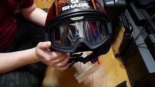 SHARK DARKヘルメット