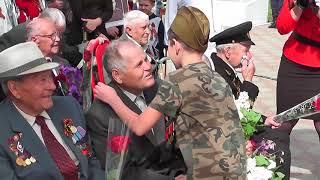 Митинг посвященный 73-й годовщине Победы советского народа в Великой Отечественной войне