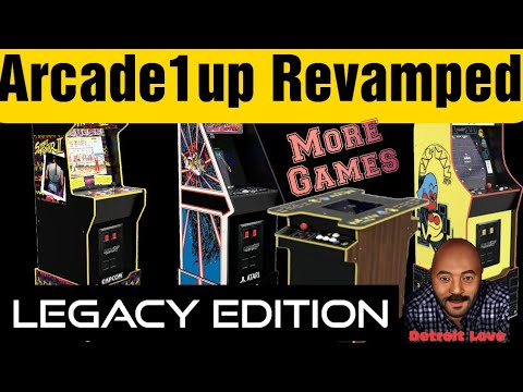 Arcade1Up Legacy Edition Cabinets Leaked from Detroit Love
