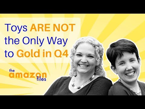 Amazon Sellers:  Toys are NOT the Only Way to Gold in Q4