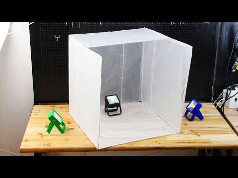 How to make Foldable Light Box - DIY