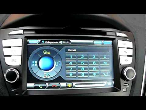 Radio GPS for Hyundai IX35 Tucson