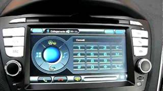 Radio GPS for Hyundai IX35 Tucson