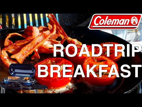 Breakfast with Coleman Grill at Rocky Mountain National Park