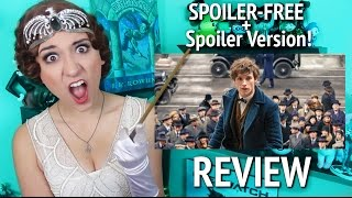 FANTASTIC BEASTS REVIEW from a Harry Potter Snob (Spoiler-Free + Spoiler Version)