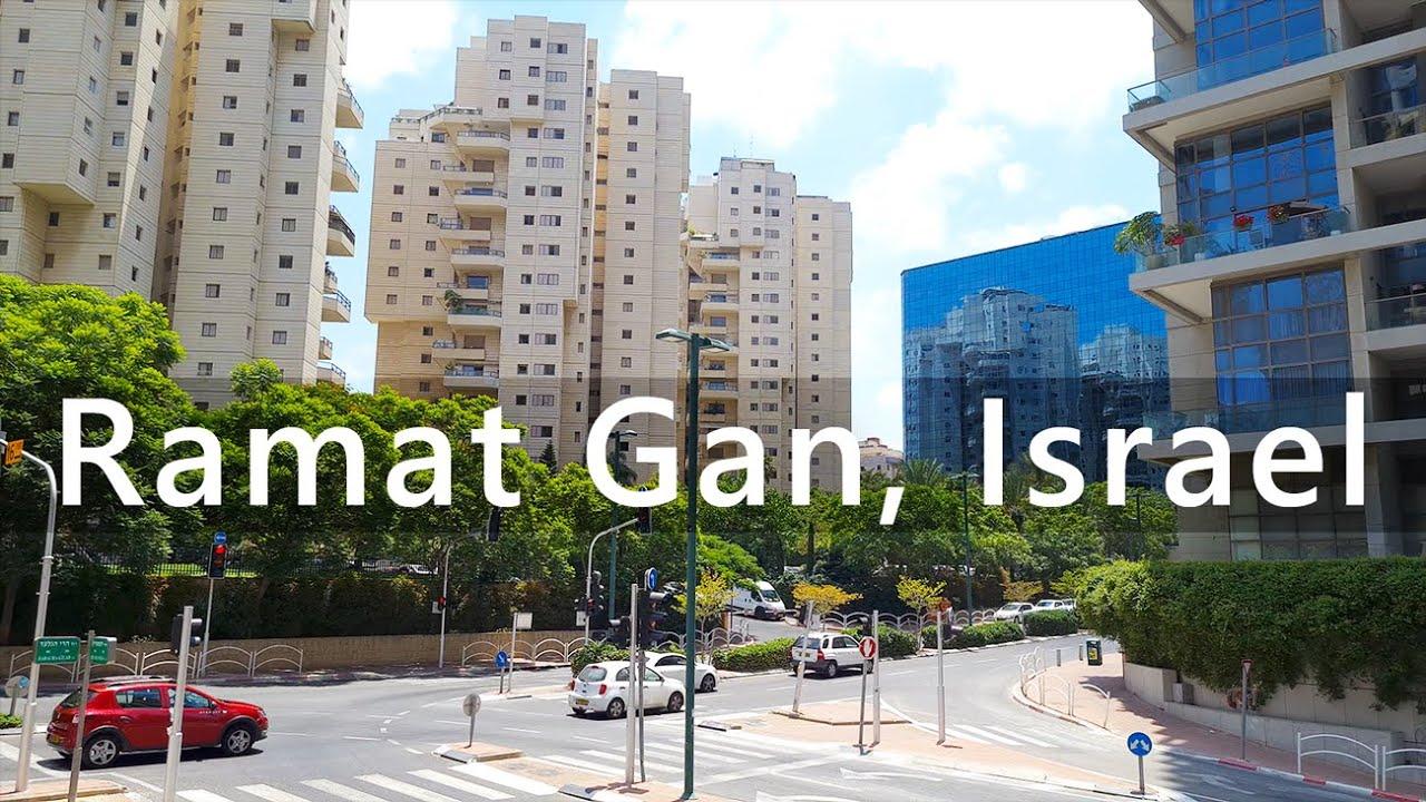Walking in Ramat Gan, Israel