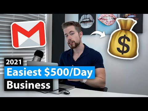 💰 How To Build An Easy $500/Day Email Marketing Agency (2021)