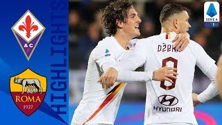 Fiorentina 1-4 Roma | Dzeko, Kolarov and Zaniolo Score in Comfortable Win! | Serie A TIM