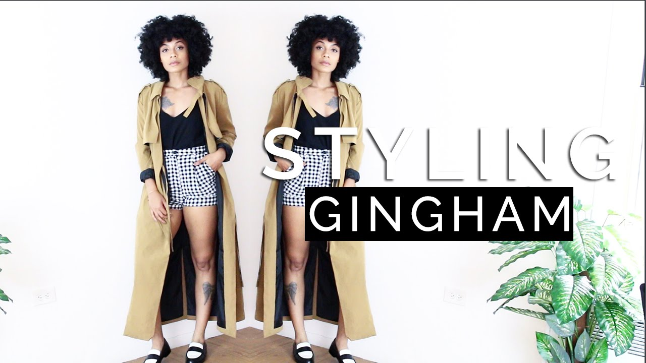 How to Style GINGHAM || LOOKBOOK