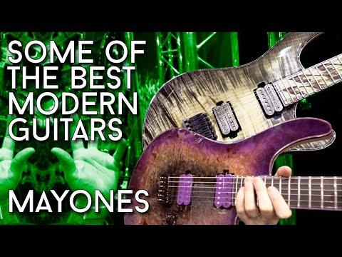Modern Guitar Perfection! Mayones