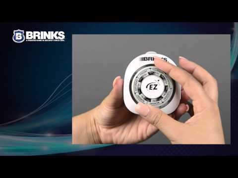 BRINKS 42-1009 Vacation Timer Instructions