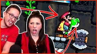 My Wife And I Played Mario Maker 2 Co-Op Levels...It Didn't Go Well