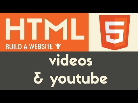 Videos & Youtube IFrames | HTML | Tutorial 10
