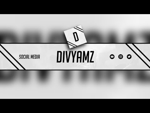 HOW TO MAKE A BANNER AND LOGO (DIVYAMZ) ON ANDROID    BANNER TEMPLATE    DIVYAMZ
