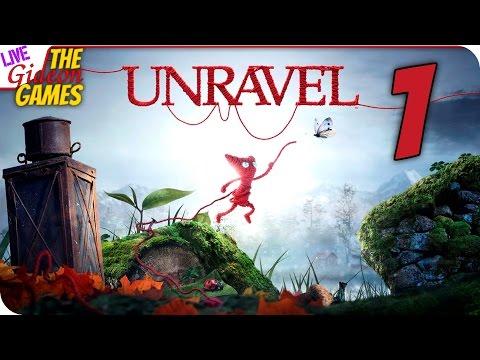 Прохождение Unravel — Вязаная милота #1 (+Вебка)