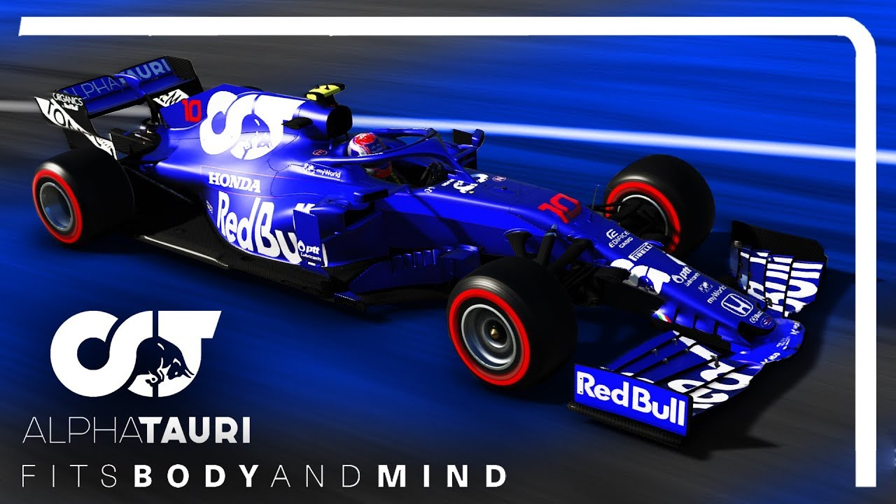 Alpha Tauri F1 Team F1 2019 Skin Showcase Youtube