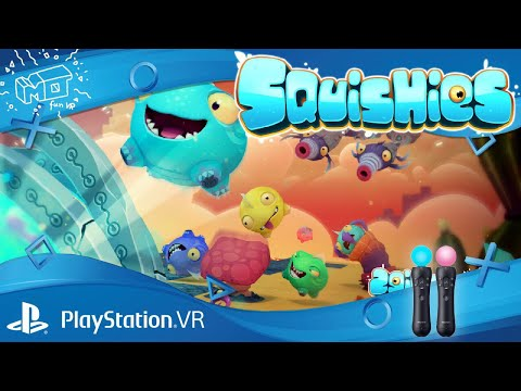 Squishies / Playstation  VR ._. First impression  /deutsch /german /live