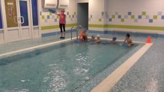 Видео урок по плаванию в саду