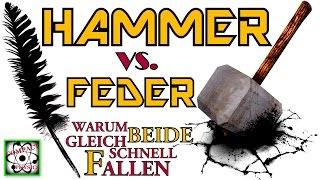 Warum Hammer & Feder gleich schnell fallen [Compact Physics] Thumbnail