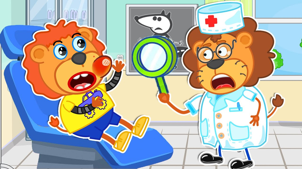 The Doctor Song with Lion Family | Cartoon for Kids