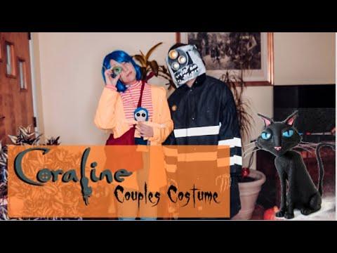 Coraline And Wybie Costume Youtube