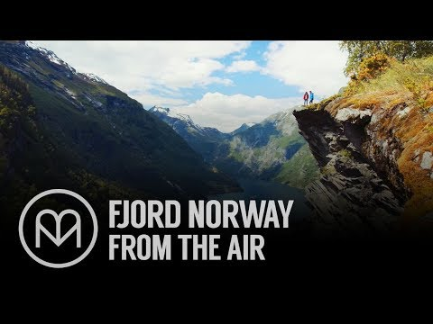 Fjord Norway From the Air