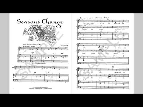 Seasons Change - MusicK8.com Singles Reproducible Kit